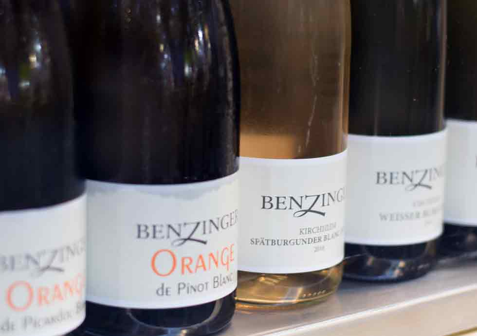 Orangewein aus der Pfalz
