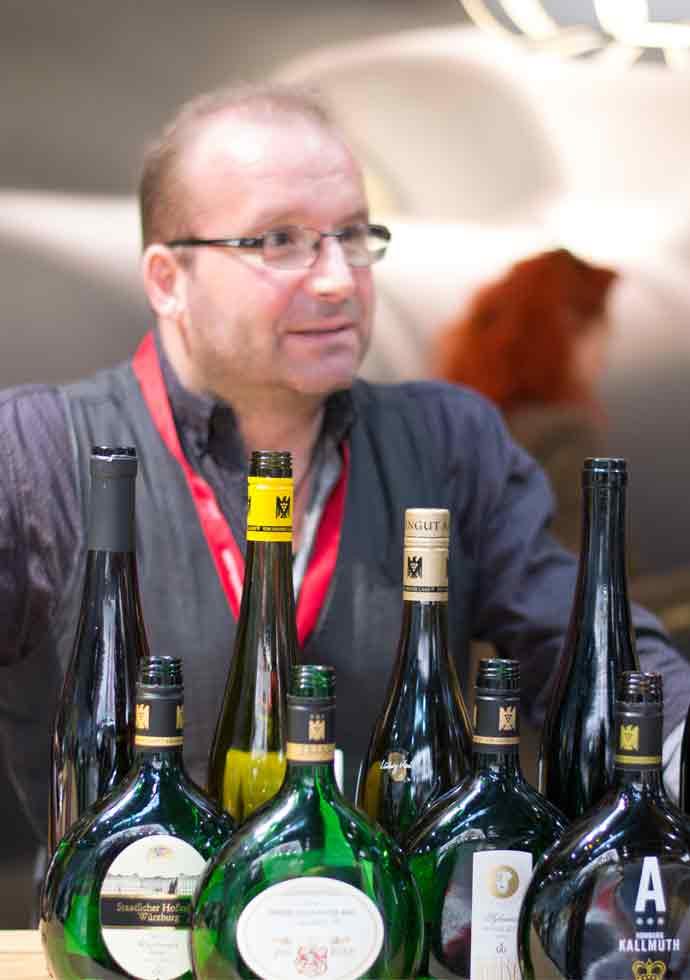 Markus Hofschuster (wein-plus) stellt Silvaner-Favoriten vor