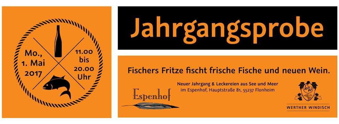 Jahrgangspräsentation im Weingut Espenhof