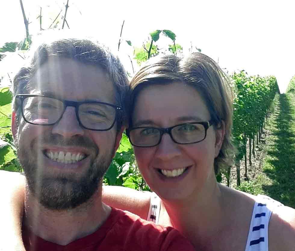 Corina und Jochen Schmitt - Winzer, Weinbau und Weine in Deutschland