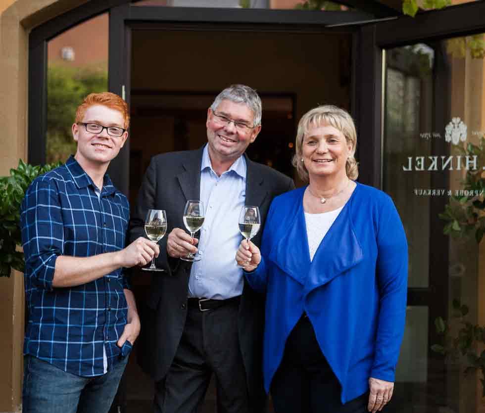 Familie Hinkel - Winzer, Weinbau und Weine in Deutschland