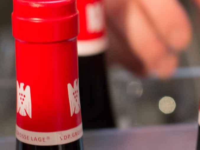 Flaschenkapsel mit dem VDP-Adler - Bild: wein-abc