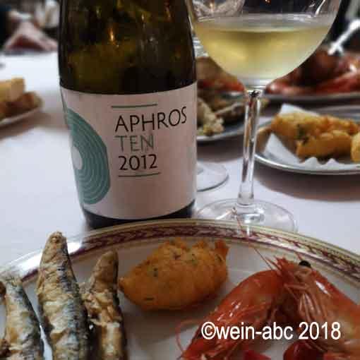 Vinho Verde als Essensbegleiter ©wein-abc 2018