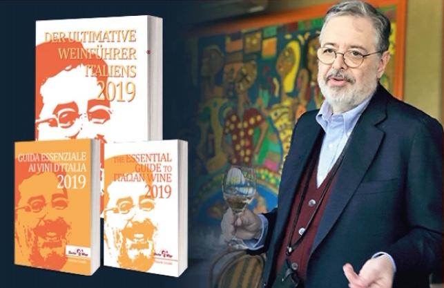 """Daniele Cernilli und der """"Der ultimative Weinführer Italiens 2019"""""""