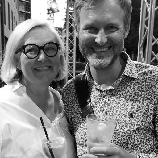 Andrea Heinzinger und Hans-Wilhelm Eckert - Gründer und Herausgeber des wein-abc
