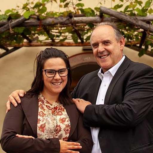 Ein starkes Team: Eva Kaneppel und ihre Vater Ludiwg