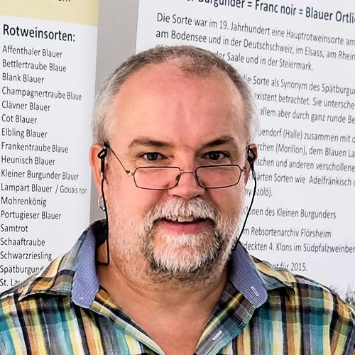Andreas Jung - Ampelograph, Geo-Botaniker und Ethnologe